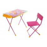 Набор стол+ стул мягкий+пенал Винкс 2 Азбука