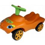Каталка Мой любимый автомобиль оранжевая озвученная