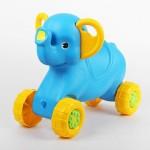 Каталка детская Слонёнок голубая - 1