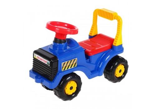 Каталка трактор синий 4942