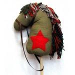 Лошадка-скакалка Будёный 90 см