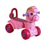 Каталка детская Лошадка розовая - 2