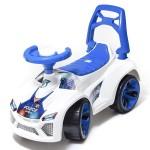 Автомобиль каталка Ламбо полиция белый 021