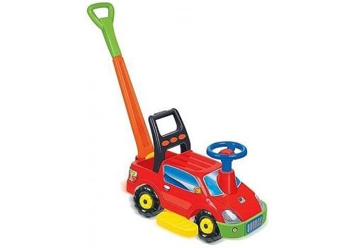 """Автомобиль-каталка для детей """"Пикап"""" с ручкой"""