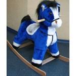 Качалка Конь-Лучик синий