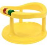 Сиденье детское для купания желтое на присосках