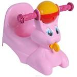 Горшок детский Зайчик голубой/розовый 2710LA RS