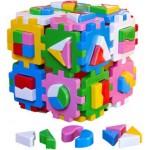 Куб логический Умный малыш Супер Логика 2650