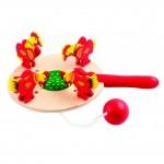 Деревянная игра Курица с зернышками 364135