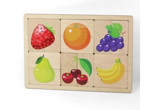 Пазл Фрукты, ягоды 00737