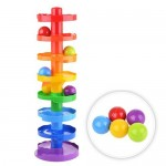 Зайкина горка МЕГА 52 см игрушка-пирамидка для малыша Биплант 15003