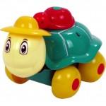 Веселая черепашка для ванной свет, движение ЕС80318R