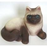 Кошка Сиамка ПВХ с-631