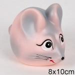 Игрушка резиновая Мышка-хозяюшка си-97