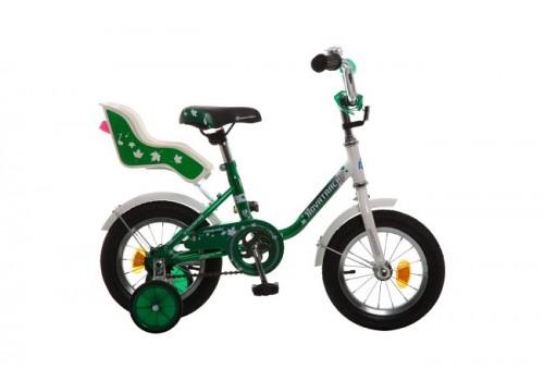Велосипед 12 дюймов Новатрек UL, зеленый