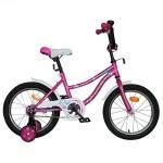 Велосипед 12 дюймов Новатрек NEPTUNE розовый 098562