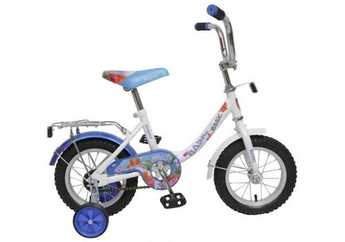 Велосипед 12 дюймов Навигатор Basic B-тип 12061 бело-голубой
