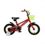 Велосипед 12 дюймов Навигатор BASIC ярко-красный 12130
