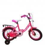 Велосипед 12 дюймов Pulse P-1203-8 светлый/розовый