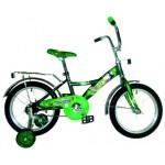 """Велосипед 14 дюймов Навигатор """"Ну, Погоди"""" зеленый 14037"""
