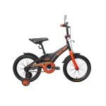 Велосипед 14 дюймов Black Aqua Sharp 1s хаки-оранжевый KG1410