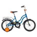 Велосипед 14 дюймов Novatrack TETRIS синий