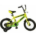 Велосипед 14 дюймов Навигатор Sports желтый