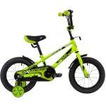 Велосипед 14 дюймов Новатрек EXTREME салатовый 143EXTREME.GN9