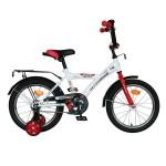 Велосипед 14 дюймов Новатрек ASTRA белый