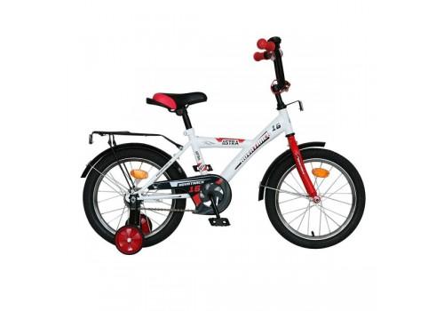 Детский велосипед Novatrack 14 дюймов ASTRA белый