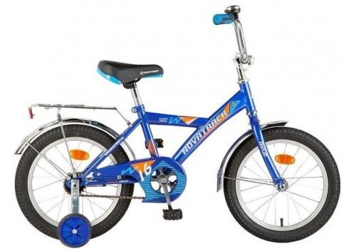 Велосипед 14 дюймов Новатрек TWIST синий 117033