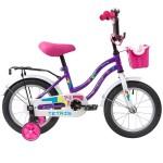 Велосипед 14 дюймов Novatrack TETRIS фиолетовый