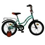 Велосипед 14 дюймов Novatrack TETRIS салатовый