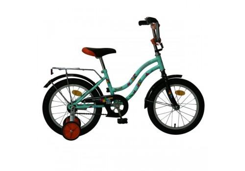 Велосипед Новатрек 14 дюймов TETRIS салатовый