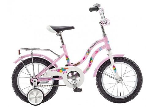 Велосипед 14 дюймов Новатрек TETRIS розовый 117047