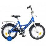 Велосипед 14 дюймов Новатрек Kross сине- белый