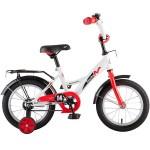 Велосипед 14 дюймов Новатрек STRIKE былый-красный 126737