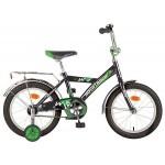 """Велосипед 16 дюймов Новатрек """"TWIST"""" черный 117043"""