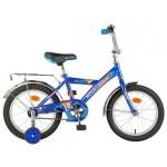 Велосипед 16 дюймов Новатрек TWIST синий 117042