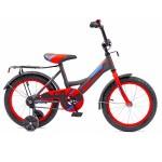 Велосипед 16 дюймов Black Aqua 1605-Т серо-красный