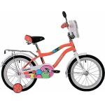Велосипед 16 дюймов колеса Novatrack Candy коралловый 165CANDY.CRL9