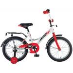 Велосипед 16 дюймов Novatrack STRIKE белый-красный