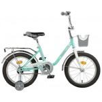 Велосипед 16 дюймов Новатрек MAPLE зеленый 117093