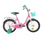 Велосипед 16 дюймов Novatrack MAPLE розовый 146226