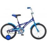 Велосипед 16 дюймов Delfi синий/голубой