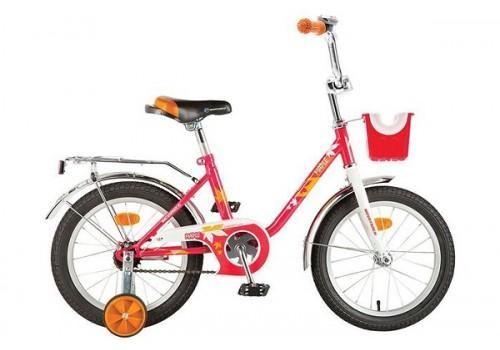 Велосипед 16 дюймов Новатрек MAPLE красный 117095