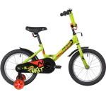 Велосипед 16 дюймов Novatrack  TWIST зеленый