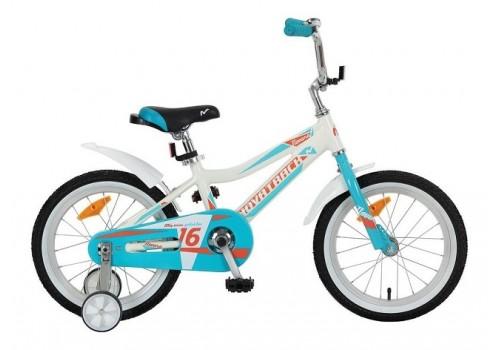 Велосипед 16 дюймов Novatrack Novara алюминиевая рама белый 165NOVARA