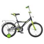 Велосипед Новатрек 16 дюймов ASTRA черный