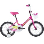 Велосипед 16 дюймов Novatrack  TWIST розовый